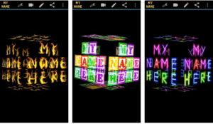 Download 3D My Name Live Wallpaper App For Android 1